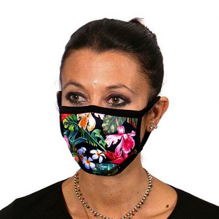 Flowers Trendy Face Mask